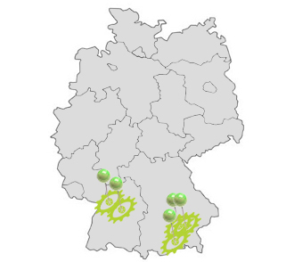 Distribution Germany